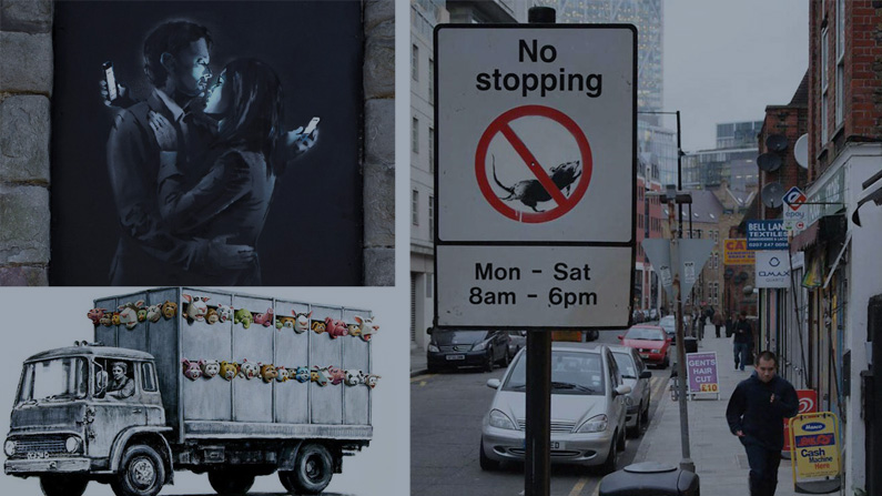 'Better Out Than In' – Banksy's New York residency through the Twitter lense