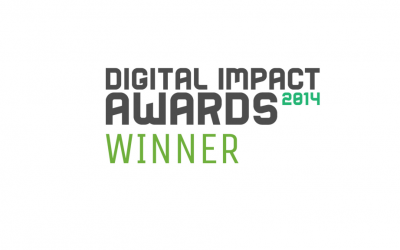 Commetric wins GOLD at the 2014 Digital Impact Awards