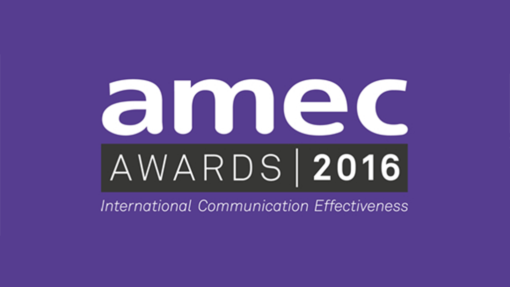 Commetric named finalist for four AMEC Awards