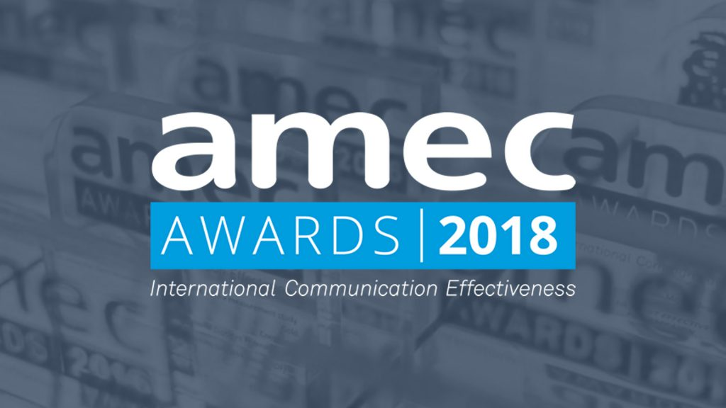 Commetric is three-time finalist for AMEC Awards