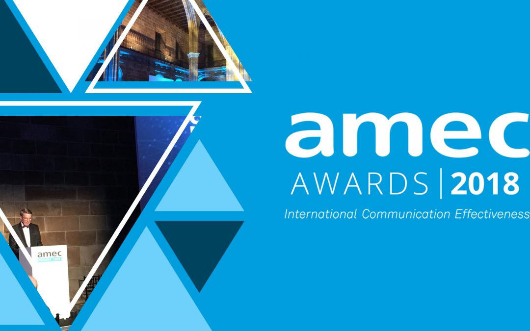 Commetric among the AMEC Awards 2018 Winners