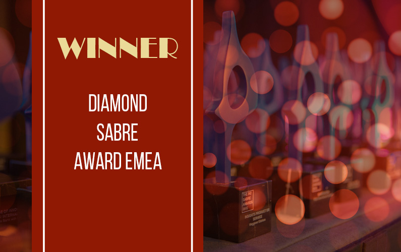 Commetric and EY win 2018 Diamond SABRE Award