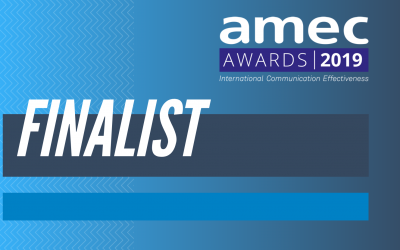 Commetric among the finalists of AMEC Awards 2019