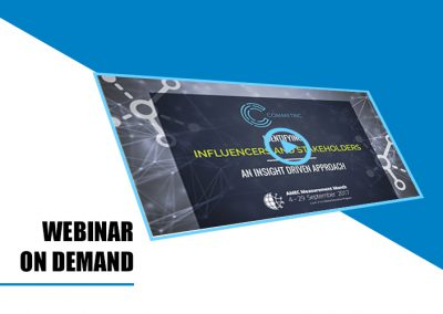 Webinar on demand: Identifying influencers and stakeholders – an insight driven approach