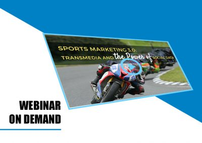 Webinar on demand: Sports Marketing 3.0: Transmedia and the Power of Social Data