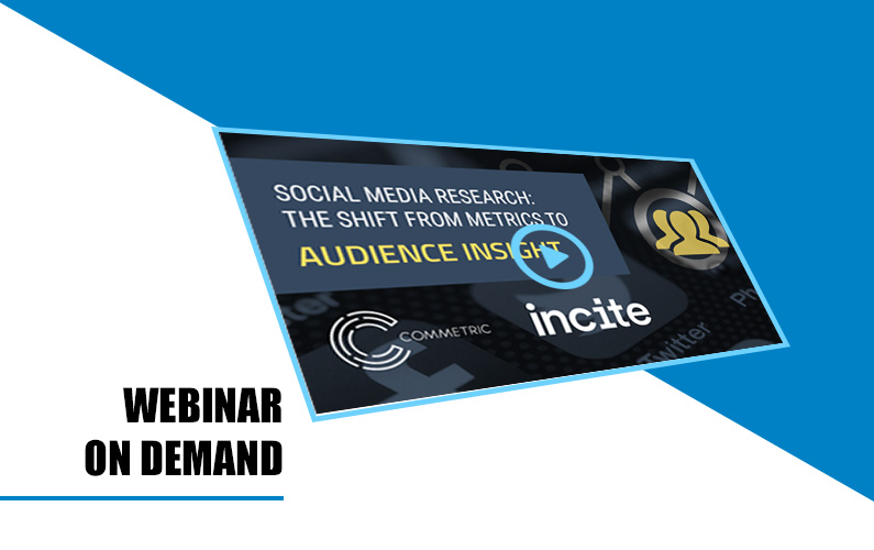 Webinar: Social Media Research – the shift from metrics to audience insight