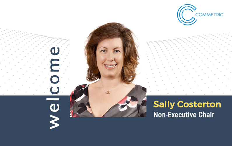 Sally Costerton joins Commetric as Chairman