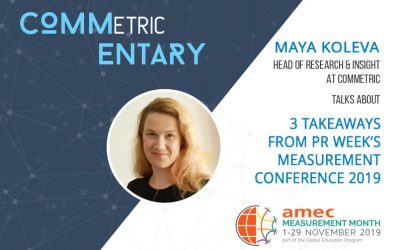 3 takeaways from PR Week's Measurement Conference 2019