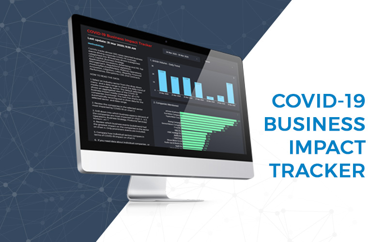 Free AI Tool Tracks Business Impact of Covid-19