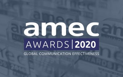 Commetric shortlisted for 8 AMEC Awards