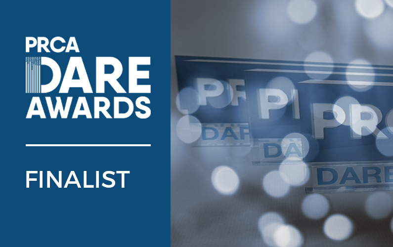 Commetric Shortlisted for Two PRCA DARE Awards