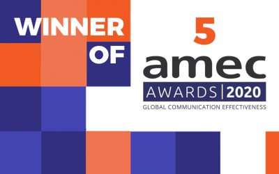 Commetric Wins 5 AMEC Awards